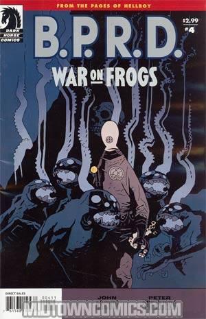 BPRD War On Frogs #4