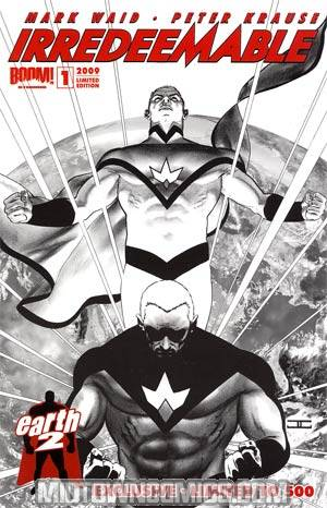 Irredeemable #1 Cover D Earth-2 Exclusive John Cassaday Sketch Cover