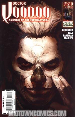 Doctor Voodoo Avenger Of The Supernatural #3
