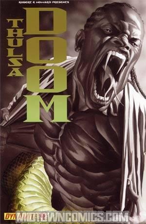 Robert E Howard Presents Thulsa Doom #4 Alex Ross Spot Color Cover