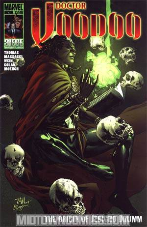 Doctor Voodoo Origin Of Jericho Drumm One Shot