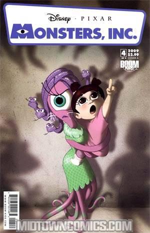 Disney Pixars Monsters Inc Laugh Factory #4 Cover A