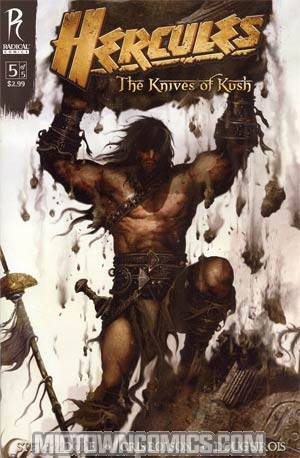 Hercules Knives Of Kush #5 Cover B