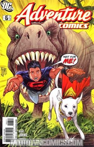 Adventure Comics Vol 2 #6 Cover A Regular Francis Manapul Cover