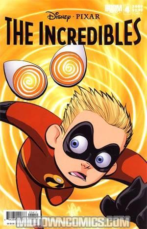 Disney Pixars Incredibles #4 Cover A