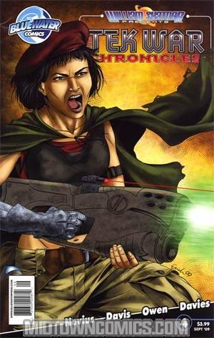 William Shatner Presents Tek War Chronicles #4