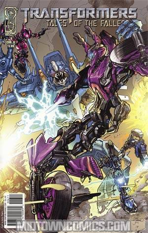 Transformers Tales Of The Fallen #6 Regular Carlos Magno Cover