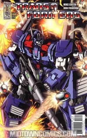 Transformers Vol 2 #3 Regular Cover A