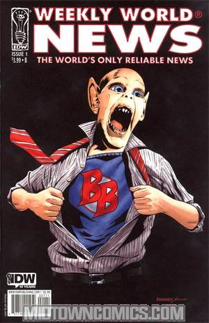 Weekly World News #1 Comic Edition Regular Cover B