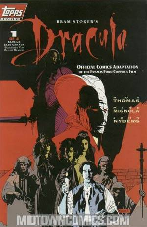 Bram Stokers Dracula #1 1st Ptg Without Polybag