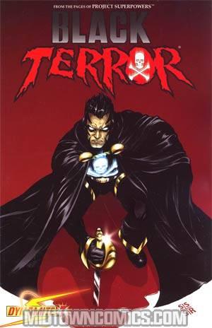 Black Terror Vol 3 #7 Regular Stephen Sadowski Cover