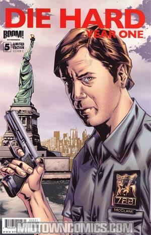 Die Hard Year One #5 Incentive Joe Jusko Variant Cover