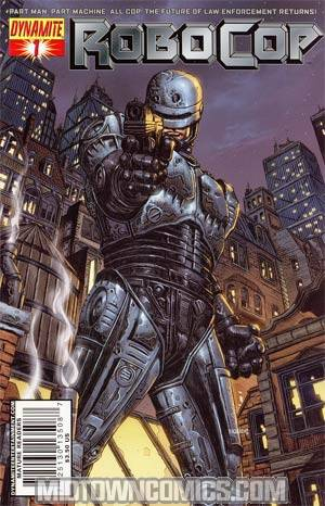 Robocop Vol 2 #1 Cover B Regular Johnny D Cover