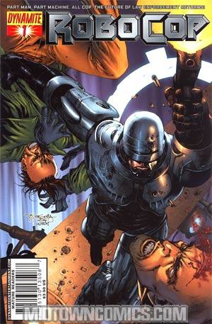 Robocop Vol 2 #1 Cover A Regular Stephen Segovia Cover