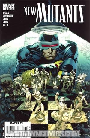 New Mutants Vol 3 #10 Regular Adam Kubert Cover