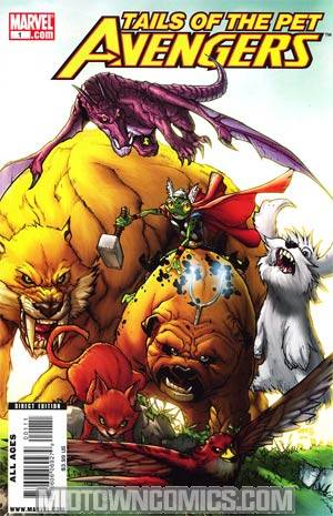 Tails Of The Pet Avengers Regular Humberto Ramos Cover
