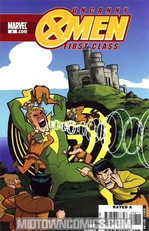 Uncanny X-Men First Class #8