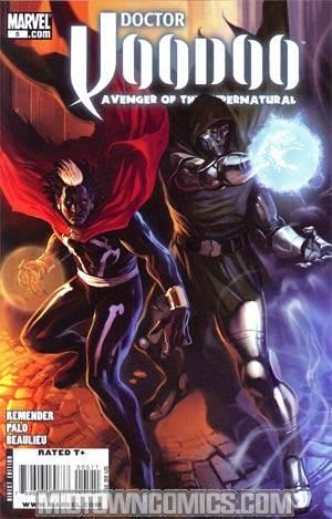 Doctor Voodoo Avenger Of The Supernatural #5