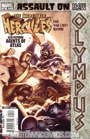 Incredible Hercules #141 Cover A Regular Alex Garner Cover