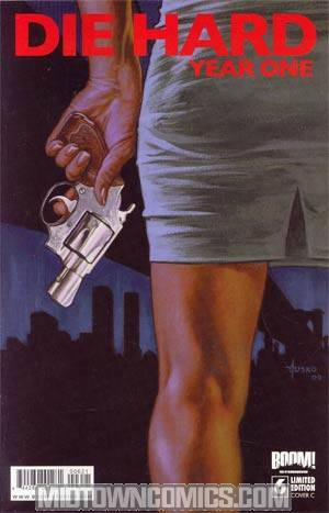 Die Hard Year One #6 Incentive Joe Jusko Variant Cover