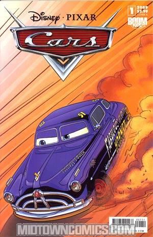 Disney Pixars Cars #1 Cover A