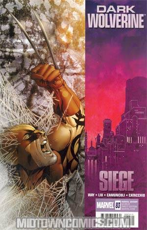 Dark Wolverine #83 Cover A Regular Salvador Larroca Cover (Siege Tie-In)