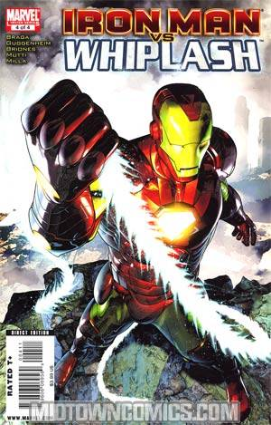Iron Man vs Whiplash #4