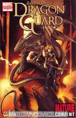 Tales Of The Dragon Guard #1 Variant Alberto Varanda Cover