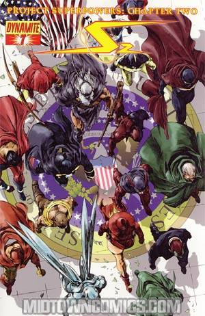 Project Superpowers Chapter 2 #7 Cover B Regular Jonathan Lau Cover