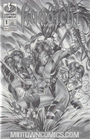 Kunoichi #1 Cover C Platinum Edition