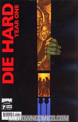 Die Hard Year One #7 Incentive Joe Jusko Variant Cover