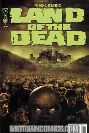George Romeros Land Of The Dead #1 Regular Photo Cover