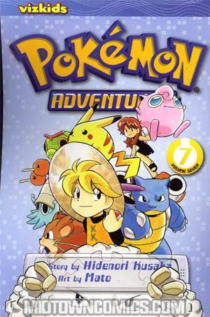 Pokemon Adventures Vol 7 GN 2nd Edition