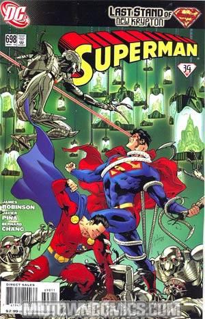 Superman Vol 3 #698 (Brainiac & The Legion Of Super-Heroes Part 3)