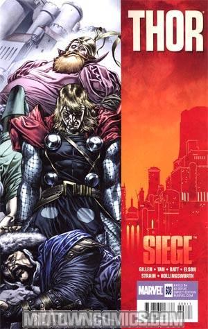 Thor Vol 3 #608 (Siege Tie-In)