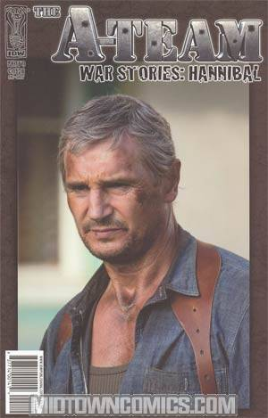A-Team War Stories Hannibal #1 Incentive Photo Variant Cover