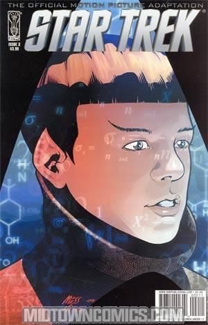 Star Trek Movie Adaptation #2 Regular David Messina Cover