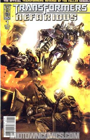 Transformers Nefarious #1 Regular Brian Rood Cover