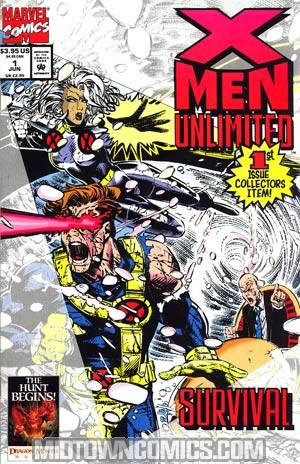 X-Men Unlimited The Beginning Bundle 6-Issue Set