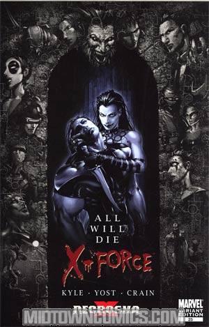 X-Force Vol 3 #25 Incentive Clayton Crain Variant Cover (X Necrosha Finale)