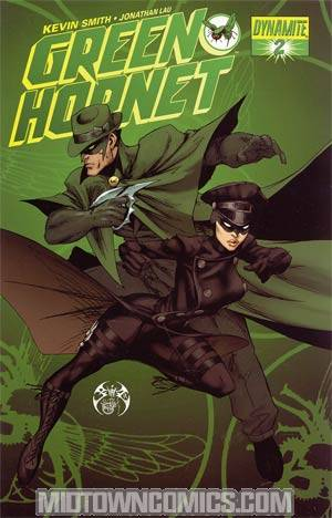 Kevin Smiths Green Hornet #2 Cover C Regular Joe Benitez Cover