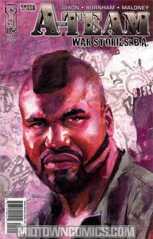 A-Team War Stories BA #1 Regular Michael Gaydos Cover