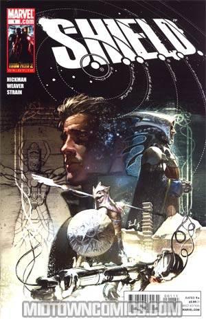 S.H.I.E.L.D. Vol 2 #1 1st Ptg Color Edition Regular Gerald Parel Cover