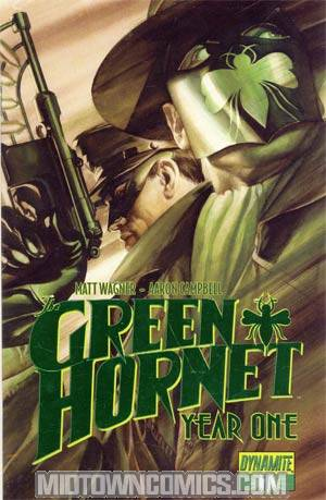 Green Hornet Year One #1 Cover H Limited Edition Alex Ross Green Foil Cover