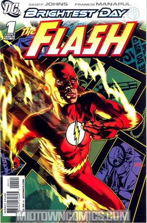 Flash Vol 3 #1 Cover B Incentive Tony Harris Variant Cover (Brightest Day Tie-In)