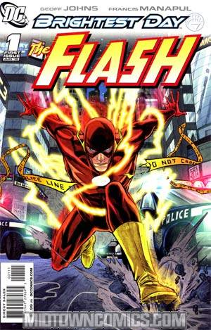 Flash Vol 3 #1 Cover A 1st Ptg Regular Francis Manapul Cover (Brightest Day Tie-In)