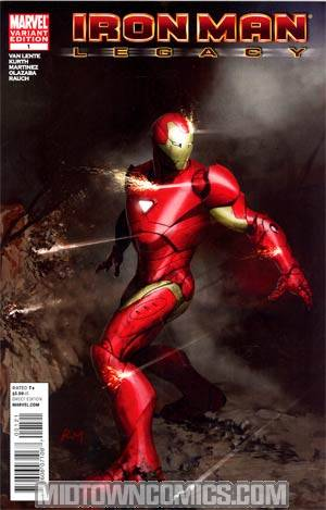 Iron Man Legacy #1 Incentive Ryan Meinerding Variant Cover