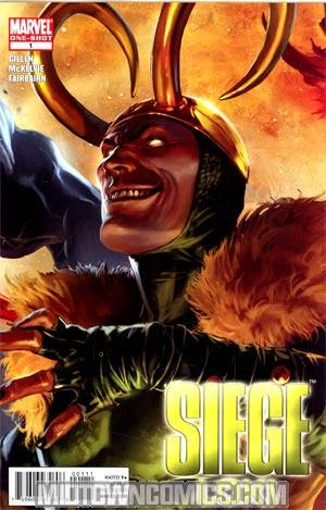 Siege Loki #1 Cover A Regular Marko Djurdjevic Cover