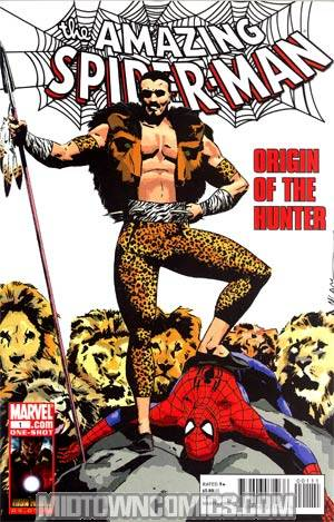 Spider-Man Origin Of The Hunter #1