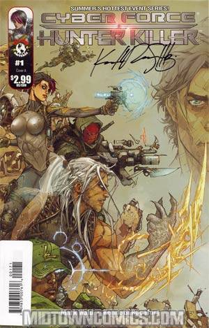 Cyberforce Hunter-Killer #1 Cover G Signed Edition